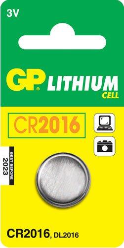 Батарейка GP CR2016 (Lithium, 1 шт)