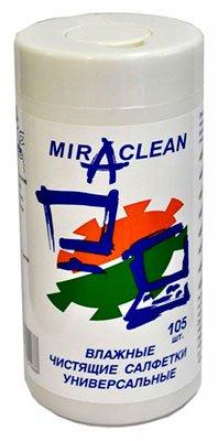 Miraclean 24168 влажные универсальные салфетки (105 шт.)
