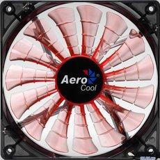 Вентилятор для корпуса Aerocool Shark Evil Black Edition Orange LED 140