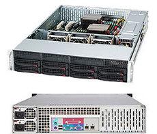 Серверный корпус SuperMicro CSE-825TQ-R740LPB
