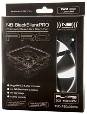 Вентилятор для корпуса Noiseblocker BlackSilentPRO PL-PS