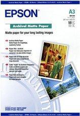 Бумага Epson Archival Matte Paper (C13S041344)