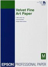 Бумага Epson Velvet FineArt Paper (C13S041637)
