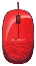 Мышь Logitech M105 Optical Mouse Red USB (910-003118/910-002945)