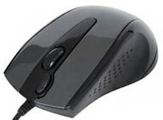 Мышь A4Tech N-500F-1 Dark Grey USB