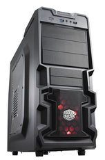 Корпус Cooler Master K380 Black (RC-K380-KWN1)