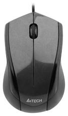 Мышь A4Tech N-400-1 Grey USB
