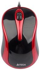 Мышь A4Tech N-360-2 Black/Red USB