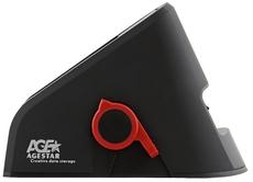 Док-станция для HDD AgeStar 3UBT Black