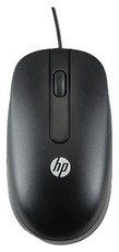Мышь HP Optical Scroll Mouse Black (QY775AA)