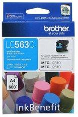 Картридж Brother LC563C