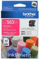 Картридж Brother LC563M