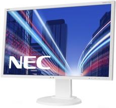Монитор NEC 22' MultiSync E223W White