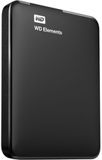 Внешний жесткий диск 1Tb Western Digital Elements Portable (WDBUZG0010BBK)