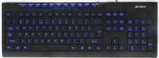 Клавиатура A4Tech KD-800L Black USB