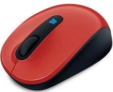 Мышь Microsoft Sculpt Mobile Mouse USB Flame Red (43U-00026)