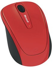 Мышь Microsoft Wireless Mobile Mouse 3500 Flame Red (GMF-00293)