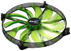 Вентилятор для корпуса Aerocool Silent Master Green LED