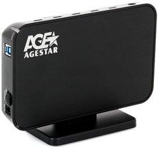 Внешний корпус для HDD AgeStar 3UB3A8-6G Black