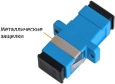 Оптический адаптер NIKOMAX NMF-OA1SM-SCU-SCU-2