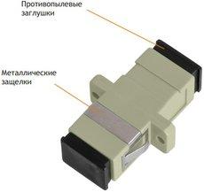 Оптический адаптер NIKOMAX NMF-OA1MM-SCU-SCU-2