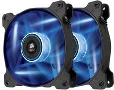 Вентилятор для корпуса Corsair AF120 Quiet Edition LED Blue Twin Pack (CO-9050016-BLED)