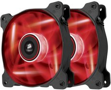 Вентилятор для корпуса Corsair AF120 Quiet Edition LED Red Twin Pack (CO-9050016-RLED)