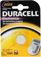 Батарейка Duracell (CR2025, Lithium, 1 шт)