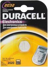 Батарейка Duracell (CR2032, Lithium, 1 шт)