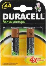Аккумулятор Duracell (AA, 2400mAh, NiMH, 2 шт)