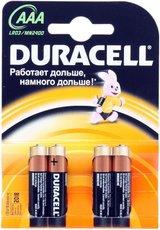 Батарейка Duracell Basic (AAA, Alkaline, 4 шт)