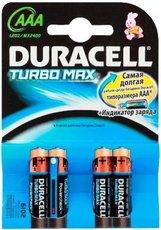 Батарейка Duracell Turbo (AAA, Alkaline, 4 шт)