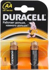 Батарейка Duracell Basic (AA, Alkaline, 2 шт)