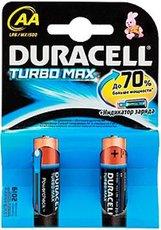 Батарейка Duracell Turbo (AA, Alkaline, 2 шт)