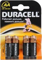 Батарейка Duracell Basic (AA, Alkaline, 4 шт)