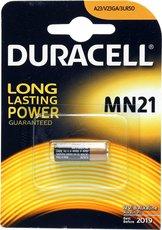 Батарейка Duracell (MN21, Alkaline, 1 шт)