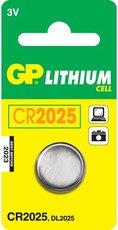 Батарейка GP CR2025 (Lithium, 1 шт)
