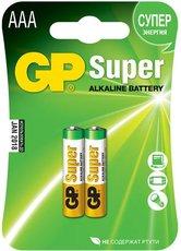 Батарейка GP 24A Super Alkaline (AAA, 2 шт)