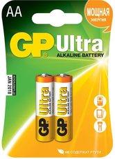 Батарейка GP 15AU Ultra Alkaline (AA, 2 шт)