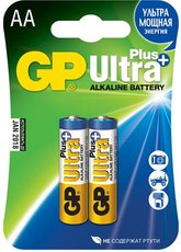 Батарейка GP 15AUP Ultra Plus Alkaline (AA, 2 шт)