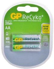Аккумулятор GP ReCyko+ (AA, NiMH, 2000mAh, 2 шт)