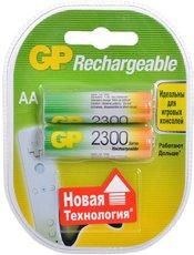 Аккумулятор GP (AA, NiMH, 2300mAh, 2 шт)