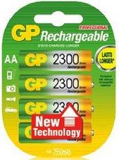 Аккумулятор GP (AA, NiMH, 2300mAh, 4 шт)