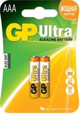Батарейка GP 24AU Ultra Alkaline (AAA, 2 шт)