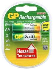 Аккумулятор GP (AA, NiMH, 2500mAh, 2 шт)