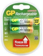 Аккумулятор GP (AA, NiMH, 2700mAh, 2 шт)