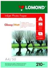 Бумага Lomond Glossy/Matt Inkjet Photo Paper (0102021)