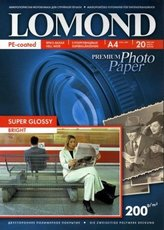 Бумага Lomond Super Glossy Bright Inkjet Photo Paper (1101112)