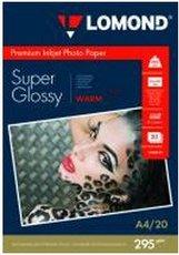 Бумага Lomond Super Glossy Warm Inkjet Photo Paper (1108101)
