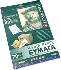 Бумага Lomond Self-Adhesive Label Paper (2100195)